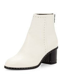 Rag And Bone Willow Studded Leather Boot Antique White
