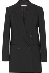 Michael Kors Oversized Stretch Wool Blazer Black