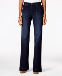 Styleandco. Style Co. Buckle Waist Jewel Wash Flare Leg Jeans Only At Macy's