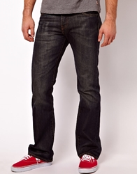 Levi's Jeans 527 Bootcut Dusty Black Blue