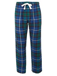 Howick Check Nightwear Trousers Navy