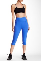 Nydj Fit Solution Trainer Cropped Legging Blue