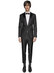Dsquared London Wool And Silk Gabardine Tuxedo