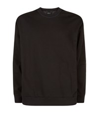 3.1 Phillip Lim Nylon Back Sweatshirt Male Black