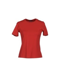 Cruciani Short Sleeve T Shirts Red
