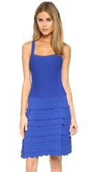 Nanette Lepore Scallop Edge Lace Dress Sapphire