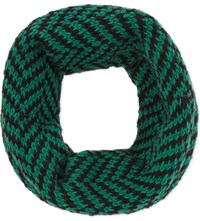 The North Circular Furze Alpaca Snood Jet With Emerald