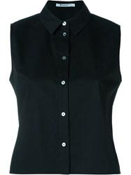 T By Alexander Wang Sleeveless Shirt Black