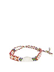Lucy Folk Citrus Sterling Silver Friendship Bracelet