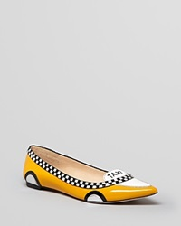 Kate Spade New York Pointed Toe Flats Go Taxi Ballet