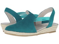 David Tate Nelly Turquoise Women's Sandals Blue