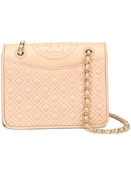 Tory Burch Medium 'Fleming' Crossbody Bag Pink And Purple