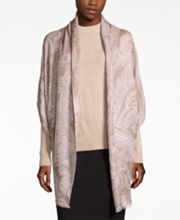 Inc International Concepts Tranquil Scale Jacquard Scarf Only At Macy's Champagne