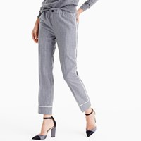 J.Crew Party Pj Pant In Pinstripe