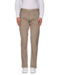 Officina 36 Trousers Casual Trousers Men Khaki