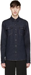Jil Sander Blue Denim Shirt