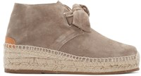 Rag And Bone Grey Suede Gena Espadrilles