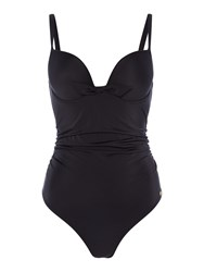 Freya Deco Underwired Moulded Swimsuit Black