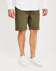 The Idle Man Basic Chino Short Green