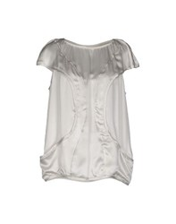 Dondup Shirts Blouses Women Grey