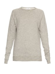 Frame Denim Le Sport Cotton Sweatshirt Grey