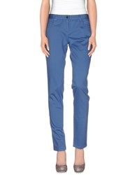 Paul And Shark Trousers Casual Trousers Women Pastel Blue