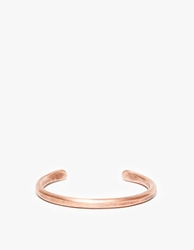 Cause And Effect Thin Copper Bar Cuff