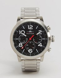 Tommy Hilfiger Jake Chronograph Bracelet Watch In Silver 1791234 Silver