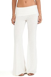 Blue Life Daydreamer Flare Pant Cream