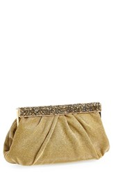Natasha Couture Crystal Bar Clutch
