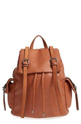 French Connection 'Kyle' Backpack Brown Nutmeg