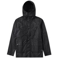 Barbour One Bell Wax Jacket Black