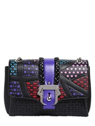 Paula Cademartori Carine Stars And Embossed Leather Bag