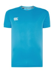 Canterbury Of New Zealand Vapodri Superlight Poly T Shirt Blue