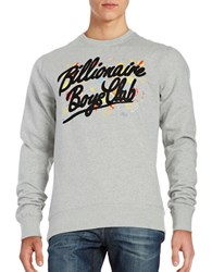 Billionaire Boys Club Viva Las Vegas Crewneck Sweatshirt Heather Grey