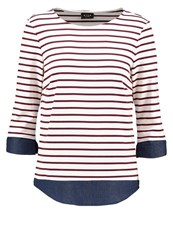 Vila Vitinny Long Sleeved Top Snow White Tawney Port