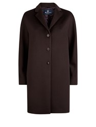 Aquascutum London Reagan Coat Berry