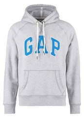 Gap Hoodie Heather Grey Mottled Grey
