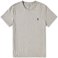 Polo Ralph Lauren Custom Fit Crew Tee Grey