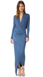 Young Fabulous And Broke Brielle Maxi Dress Midtown Blue
