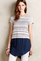 Dolan Skirted Bellvue Tee Blue
