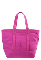 Polo Ralph Lauren Tote Bag Bright Magenta Pink