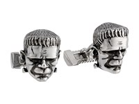 Stephen Webster Monster Cuff Links With Garnets Silver Bracelet