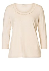 Betty Barclay Embellished T Shirt Cream