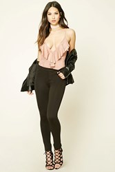 Forever 21 Stretch Knit Skinny Pants