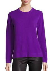 Polo Ralph Lauren Cashmere Crewneck Sweater Purple