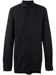 Army Of Me Concealed Fastening Shirt Black
