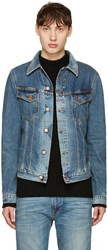 Nudie Jeans Blue Denim Billy Jacket