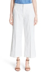 Women's Tory Burch 'Jodie' Wide Leg Pants