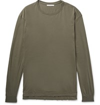 John Elliott Mercer Cotton Jerey T Hirt Army Green